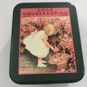 Vintage Good Housekeeping Tin Box